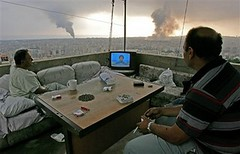Lebanon, July 16, 2006 (Mongibeddu) Tags: lebanon israel tv war middleeast ap beirut libano bombing hezbollah haaretz nasrallah kevorkdjansezian djansezian
