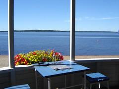 Beach, Iisalmi, Finland (Anna Amnell) Tags: summer lake beach suomi finland cafe kahvila uimala iisalmenuimala photofridaybright