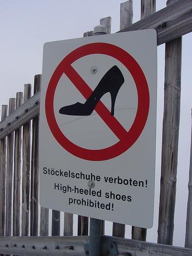 No High Heels