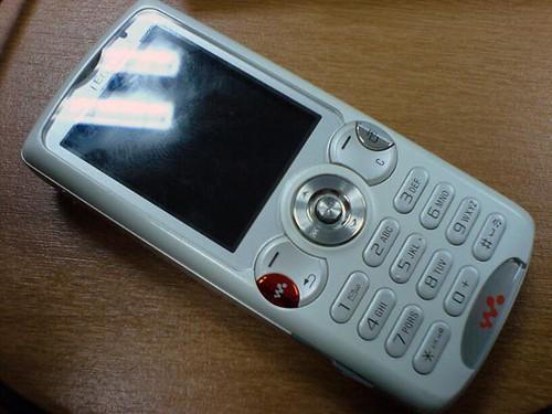 Sony Ericsson w810 white