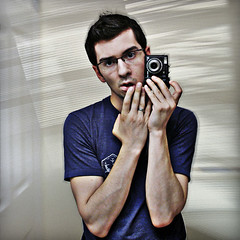 (scottintheway) Tags: portrait selfportrait me face self myself square mirror fantastic olympus andi sp350