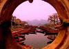 Portal view (ivanyu) Tags: water boats vietnam 5hits