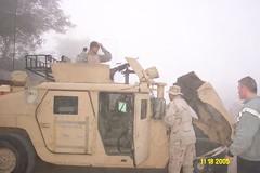 Morning Patrol FOB Iskandariyah Winter 2005/06 (MajorHavoc) Tags: war iraq iraqi civilaffairs oif babil operationiraqifreedom iskandariyah shibusawa