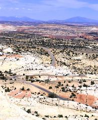 The Ribbon of Highway 12 through the Escalante Canyons (goobersmyn) Tags: utah capitolreef escalante escalantecanyons boulderutah torreyutah tropicutah grandcircletour utahcanyons overthehogsback highway12utah utahsscenicbyways