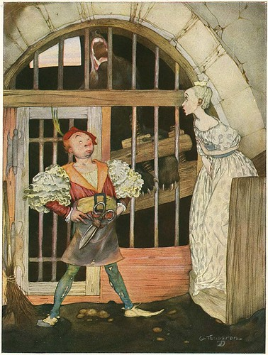 Illustrations by Gustaf Tengrim for a 1923 edition of the book of Grimm's Fairy Tales