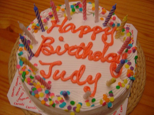 Birthday Cakes For Judy
