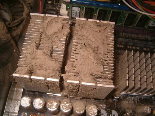 CC photo credit: eurleif :: Dust with a heatsink under it