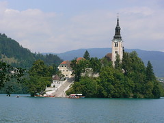 Lake Bled - The Island and Church