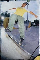 Eu na revista Tribo em 2000