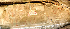 Graffiti Of The Ancient Ones (flickr in the old days) (Tommy Simms) Tags: panorama newmexico art 20d ruins widescreen pano canon20d wallart panoramic canoneos20d nativeamerican artifact petroglyph largo canoneos anasazi indianruins petroglyphs tommysimms theworldthroughmyeyes largocanyon 290429047 copyrightwwwtommysimmscom