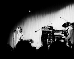 The Police in Concert, 1979 (Ray Radlein) Tags: blackwhite concert sting trix 1979 columbiasouthcarolina thepolice russellhouse universityofsouthcarolina stewartcopeland andysummers russellhouseballroom regattadelblanc 13police