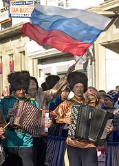 Os típicos cosacos ferroláns