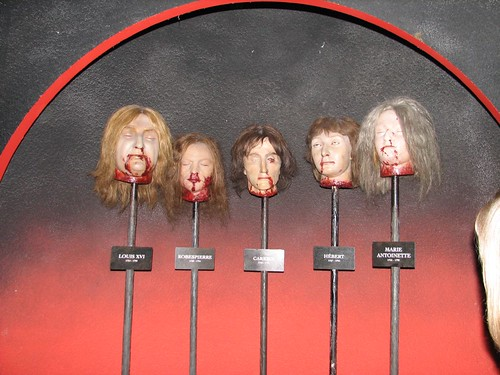 Madame Tussauds - French Revolution Death Masks