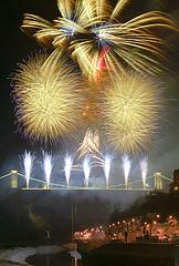 Img 1177 Brunel 200  Fireworks N (Bryan26) Tags: life uk bridge england bristol europe european suspension display britain united great illuminations kingdom firework celebration 200 gb gorge british avon builder brunel isambard achievements hotwells