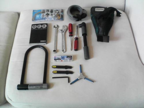 Stuff I Carry on the Bike