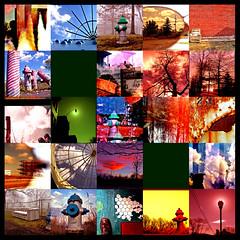 70k Views [Your favorites 8.13.06] (ǝlɐǝq ˙M ʍǝɥʇʇɐW) Tags: flickr mosaic favorites photomosaic 23 yourfavorites 70000views