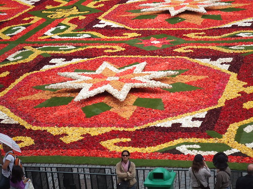 Flower carpet at the Grand Place