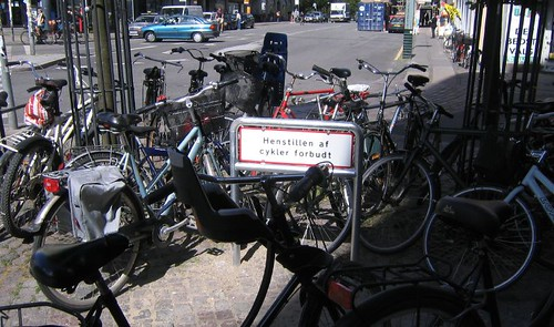 No Parking Sign in Copenhagen