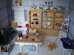 tiles, tiles (Anna Amnell) Tags: kitchen toys miniatures cocina miniatura dollhouse munecas puppenhaus nukkekoti nukketalo dollsshouse