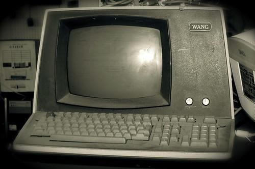 retro wang computer