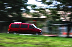 In a hurry - S3isPanning_1 (Daniel Y. Go) Tags: travel red car speed canon philippines powershot vehicle van panning tagaytay s3is onecentshot wowiekazowie gettyimagesphilippinesq1