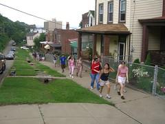 urban hike, 7-15-06