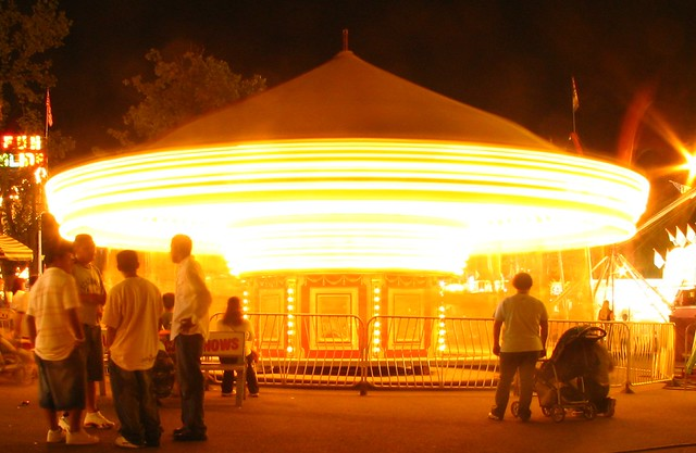 Blurred Carousel