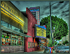 laemmle theatres in color (Kris Kros) Tags: california ca family bw usa house color classic film public digital photoshop movie lens photography la losangeles high cool nikon colorado pix theater dynamic cs2 ps brush historic business socal owned kris nostalgic nightlife pasadena playhouse range sr hdr blvd nyt newyorktimes kkg theatres dolby laemmle vromans coloradoblvd moviehouse 3xp photomatix 473 pscs2 kros jdj kriskros vroman kk2k laemmletheatres wasitdonewithalensorabrush familyownedbusiness kkgallery