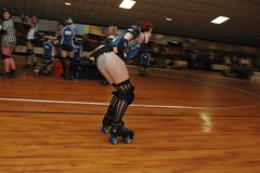 flash (birdcage) Tags: flash rollerderby maryland baltimore charmcityrollergirls nightterrors minervavavoom puttyhillskateland