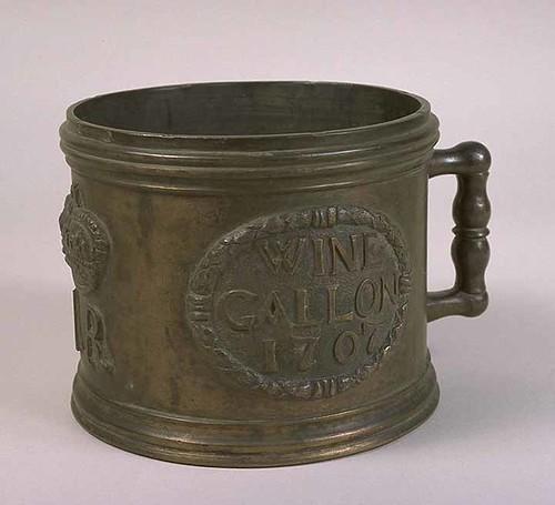 Imperial Wine Gallon, 1707