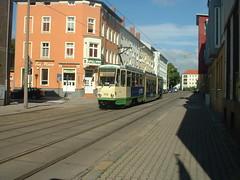 DSCF0239 (Matthew Black) Tags: germany europe eu tram brandenburg tatra centraleurope bundesland brandenburganderhavel