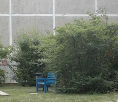 Blue Bench, Marzahn (uptownbiker) Tags: berlin marzahn