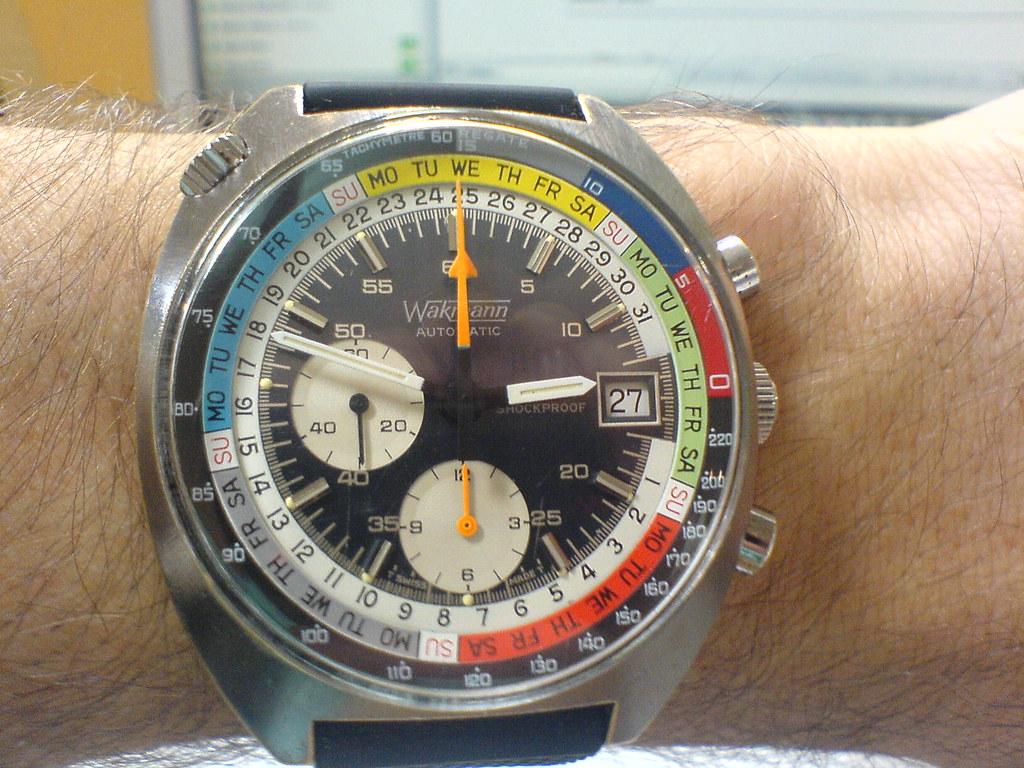Wakmann Vintage Chronograph (1970s)