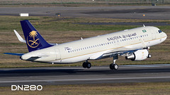 Saudia A320-214 msn 7444 (dn280tls) Tags: fwwdj hzas53 saudia a320214 msn 7444