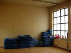 Essen shrine cushions