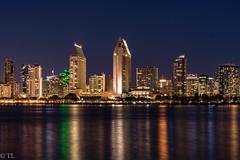 San Diego lights (silberne.surfer) Tags: california usa nikon sandiego urlaub nikkor coronado kalifornien langzeitbelichtung sandiegoskyline 2015 sandiegoharbor lte nikkor70200mmf4 nikond750