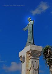 Statue 'Jesus of the Sacred Heart' (Trevor Jolley) Tags: statue monte toro menorca jesusofthesacredheart