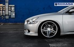 Nissan Maxima - RC8 Machine Silver (7) (Rohana Wheels) Tags: nissan wheels tuner rims import maxima nismo rohana nissanmaxima rc8 4dsc rcseries rohanawheels nissanpower