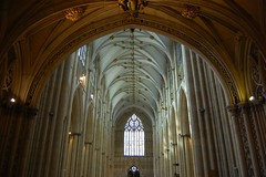 York Minster (mademoisellelapiquante) Tags: york uk england architecture cathedral yorkshire medieval yorkminster gothicarchitecture