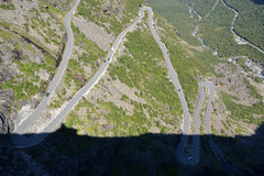 Hairpin bends (hippohog68) Tags: road mountains norway norge roadtrip scandinavia hairpin steep trollstigen hairpinbends