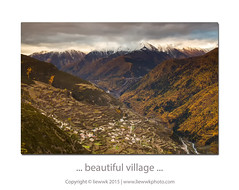 ... a beautiful village ... (liewwk - www.liewwkphoto.com) Tags: mountain village filter lee  sichuan cpl     photohunter rgnd liewwk liewwknature