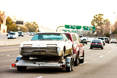 Older Oldsmobiles (Thomas Hawk) Tags: california usa car america unitedstates unitedstatesofamerica freeway oldsmobile fav10