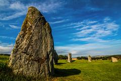 Stone Circle (Matthias-Hillen) Tags: blue sky rock stone clouds circle easter landscape scotland highlands aberdeenshire united himmel wolken kingdom highland landschaft stein blauer schottland felsen inverurie aquhorthies steinkreis grosbritanien