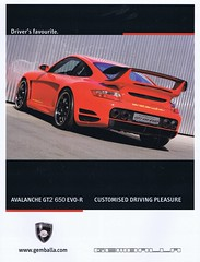 Gemballa Avalanche GT2 650 EVO-R 2007 (Runabout63) Tags: porsche gt evo avalanche gemballa