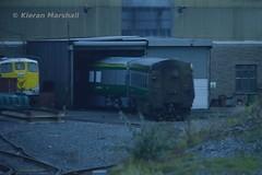 Short Mark 4 set, Inchicore, 10/10/15 (hurricanemk1c) Tags: dublin irish train rail railway trains railways caf irishrail intercity inchicore 2015 mark4 iarnród éireann iarnródéireann