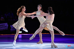 Ekaterina Gordeeva, Irina Slutskaya & Naomi Lang