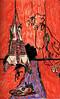 Hombre, pollo y vacuno (Rodrigo_d._Toledo) Tags: arte vacuno pollo hombre pintura ilustración boceto humana figura naranjo