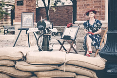 Waxahachie WW II Weekend - The USO Gals (d-day buff) Tags: texas wwii worldwarii 1940s reenactment waxahachie livinghistory