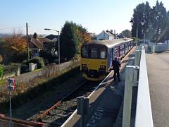 150102 Gunnislake (11) (Marky7890) Tags: station train cornwall railway gwr sprinter dmu tamarvalleyline fgw class150 gunnislake 150102 2g74