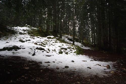 Snow at the Black Lake